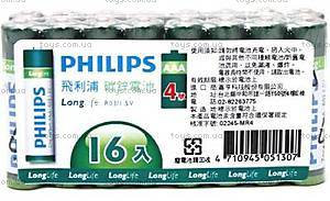 Батарейка PHILIPS LongLife ,