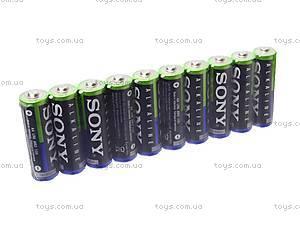 Батарейка SONY alkaline AA, LR-06, купить