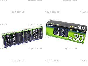 Батарейка SONY alkaline AA, LR-06, фото