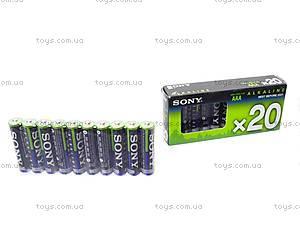 Батарейка SONY alkaline AAA, LR-03, купить