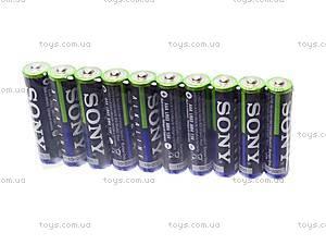Батарейка SONY alkaline AAA, LR-03, фото