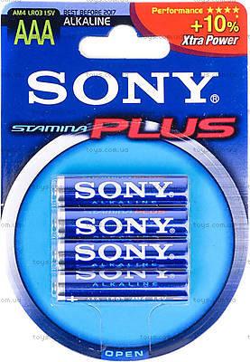 Батарейка SONY  Stamina Plus ,