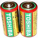 Батарейка Toshiba бочка большая 1.5V, R20, отзывы