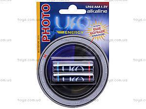 Батарейка UFO Energy, тип AAA , LR-03 BL2