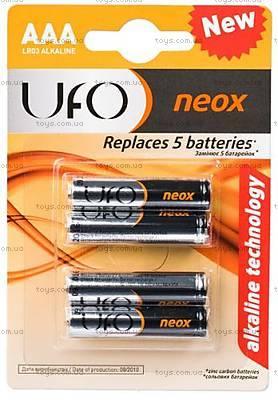 Батарейка UFO NEOX типа AAA, 99123