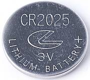 Батарейка UFO типа CR2025, 5547696, фото