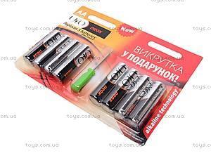 Батарейки AA UFO Neox с отверткой, LR-06 BL8+, купить