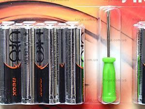 Батарейки AA UFO Neox с отверткой, LR-06 BL8+, фото