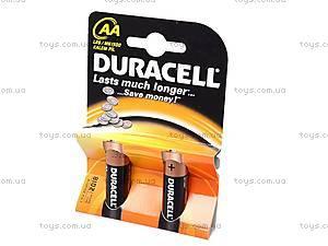 Батарейки Duracell АА, LR-06 BL/2, купить