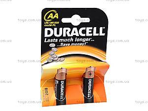 Батарейки Duracell АА, LR-06 BL/2