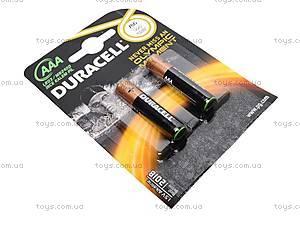 Батарейки Duracell ААА, LR-03 BL/2, купить