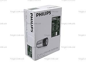 Батарейки Philips, R-14