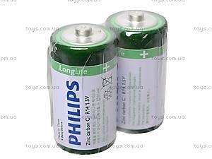 Батарейки Philips, R-14, купить