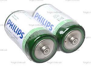 Батарейки Philips, R-14, фото