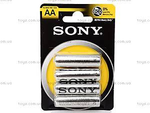 Батарейки Sony AA, R-06