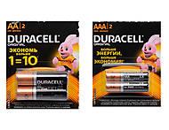 Батарейки Duracell ААA, LR-03 BL12, купить
