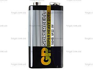 Батарейки GP Superrcell «Крона» 9V, 6F22, фото