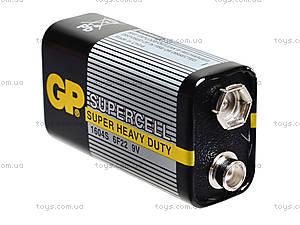 Батарейки GP Superrcell «Крона» 9V, 6F22, отзывы