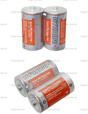 Батарейка Huyndai «Бочонок», R-14