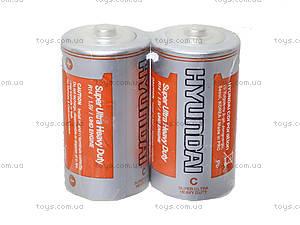 Батарейка Huyndai «Бочонок», R-14, фото
