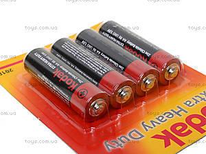 Батарейки Kodak AA, 4 штуки в блистере, R-06 BL4, купить