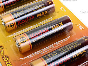 Батарейки AA Kodak Alkaline, LR-06 BL10 max, отзывы