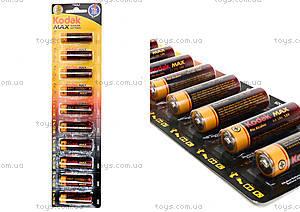 Батарейки AA Kodak Alkaline, LR-06 BL10 max
