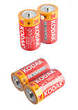 Батарейки Kodak R20 Бочка большая  (1шт), R20 Kodak, тойс ком юа