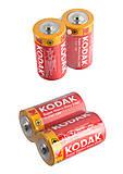 Батарейки Kodak бочонок малый R14 (1шт), R14, отзывы