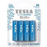 Батарейки TESLA AA BLUE+ (R06), 4 штуки, AA BLUE+, тойс
