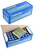 Батарейки Toshiba R6440, синяя  (1шт), R6 СИН, тойс
