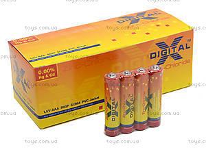 Батарейки X-Digital ААА, R3, фото
