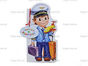 Книжка для детей «Профессии. Поиграем в водителей», М556007У, цена