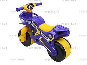Детская каталка-мотоцикл «Полицейский байк», 0139550, фото