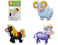 Беби пазлы для детей «Ферма», VT1106-51, отзывы