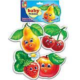 Беби пазлы для малышей «Фрукты», VT1106-04
