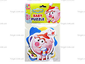 Беби-пазлы «Смешарики», VT1106-46,47,48,49, детские игрушки