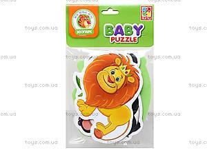 Беби пазлы для детей «Зоопарк», VT1106-50, игрушки