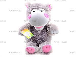 Плюшевый бегемот, 29.02.01, toys.com.ua