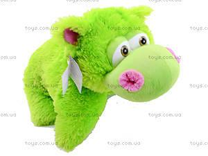 Мягкая игрушка-подушка «Бегемот», 29.02.022, купить