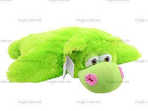 Мягкая игрушка-подушка «Бегемот», 29.02.022, цена