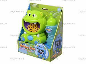 Игрушка для пускания мыльных пузырей «Бегемот», 10019ADHOBB-BF, фото