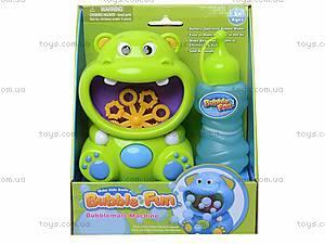 Игрушка для пускания мыльных пузырей «Бегемот», 10019ADHOBB-BF