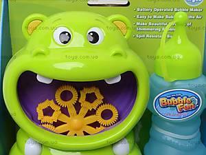 Игрушка для пускания мыльных пузырей «Бегемот», 10019ADHOBB-BF, отзывы