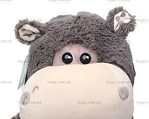 Мягкая игрушка «Бегемотик Энджи», К407Р, купить