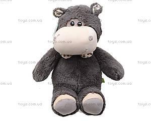 Мягкая игрушка «Бегемотик Энджи», К407Р, фото