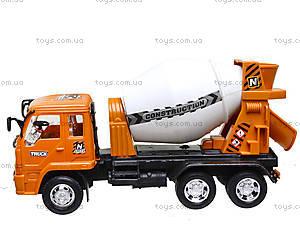 Игрушечная бетономешалка Truck, 2013, отзывы
