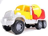 Детская бетономешалка игрушечная, 05-521, купить