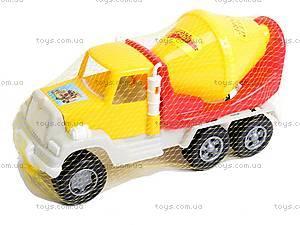 Детская бетономешалка игрушечная, 05-521, цена