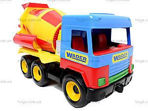 Бетономешалка Middle truck, 39223, детские игрушки